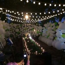 Very Big Balls 10m Waterproof  38 LED String Lights Party Outdoor White USA-01