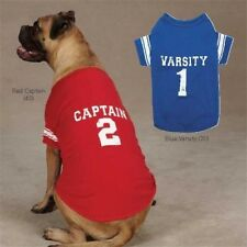 Varsity 1 Blue OR Captain 2 Red AMERICANA T-Shirt Dog Puppy Miscellaneous Sizes