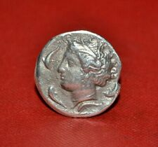 Unresearched Ancient Greek Silver Coin 21.2G