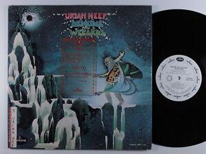 URIAH HEEP Demons And Wizards MERCURY LP VG+ wlp unipak >