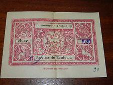 anno 1930 ancien IMAGE PIEUSE agneau de PAQUES communio pascalis HOMBOURG