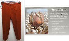 Pantaloni da uomo marrone in cotone