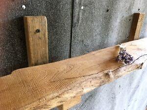 120 cm Robinienholz, Regal, Ablage, Rustikal, Naturholz, Brett, Natur, Landhaus
