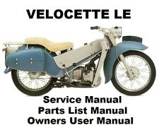 Velocette classic vintage parts ebay velocette le owners workshop service repair spare parts list manual pdf on cd r asfbconference2016 Choice Image