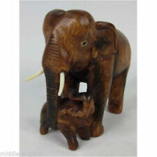 Wooden Elephants Decorative Figures