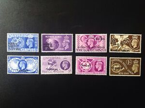 Morocco Agencies/Tangier two different commemorative sets, unmounted mint.