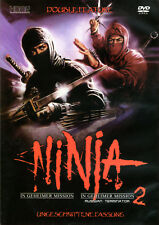 The Ninja Mission , 100% uncut ,new and sealed , Ninja in geheimer Mission 1 & 2