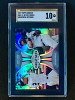 2019 Topps Chrome Gleyber Torres Derek Jeter #GRE-11 SGC 10 Gold Label Pop 1
