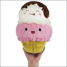 Ice Cream Cone Comfort Food Squishable 7 inch Mini Plush