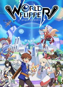 [JP] World Flipper Starter account 25000-30000 Gems 200K Mana 15-30% off bundle