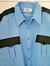New Conqueror 1776 Mens Blue Service Uniform Shirt Police Security Dispatcher