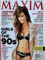 JENNIFER LOVE HEWITT April 2012 MAXIM Magazine LACEY CHABERT / ANNA KOURNIKOVA