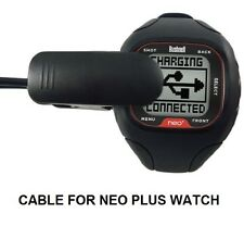 CHARGING CABLE FOR BUSHNELL NEO + PLUS WATCH GPS RANGEFINDER USB model 368300