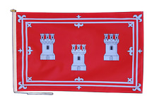 More details for aberdeen flag with rope and toggle - various sizes