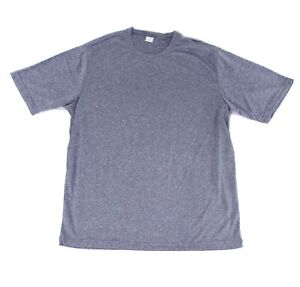 Sport-Tek Mens Activewear Tops Blue Size Large L Space Dye Short Sleeve $40 904