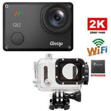 Gitup Git2 Pro WiFi 2K Helemet Sports Cam 16MP 1080P 170° Wide Angle Sony Sensor