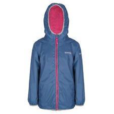 Regatta Lagoona Kid's Reversible Jacket Fleece Backed Waterproof Girls Boys