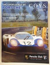 COYS London The Excellence of Porsche Historic Sportscars Auction 2007 Catalog