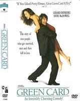 Green Card (DVD, 2003) Gerard Depardieu, Andie MacDowell; Peter Weir