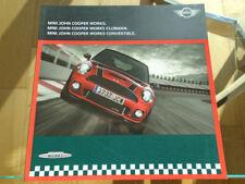 Mini John Cooper Works range brochure Mar 2010