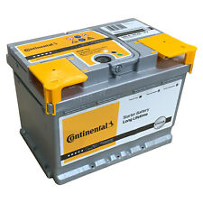 Autobatterie Continental 12V 60Ah 580A Starterbatterie Wartungsfrei Batterie
