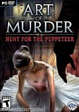 ART OF MURDER: HUNT FOR THE PUPPETEER. BRAND NEW DVD. SHIPS FAST and SHIPS FREE