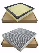 Engine & Cabin Air Filter for Jeep Grand Cherokee Dodge Durango 2011-2015