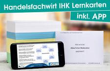 HANDELSFACHWIRT IHK 2018 Lernkarten für die PRÜFUNG inkl Lernkarten-App (VO2014)