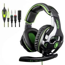 [2018 SADES SA810 nouvelle Xbox one micro PS4 Gaming Headset] 3.5 mm filaire