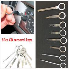 8pcs Car Radio Removal Tool Set Stereo Head Unit Audio Tools Keys Stereo CD Trim