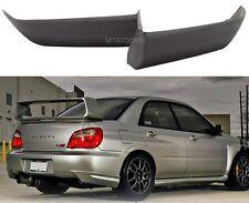 Fits 06 07 Subaru WRX JDM ADD-ON Rear Bumper Lip Splitter Spat Valance Chin PU