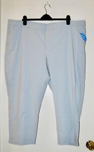 NWT Columbia PFG Women's Plus Light Gray Omni-Shade Armadale Ankle Pants sz 24W