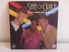 STATE OF GRACE That's when ( we ll be free ) 101749