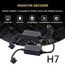 2X H7 Ampoule Led Canbus RéSistance Sans Erreur DéCodeur Anti Scintillement