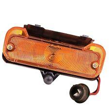1965 Chevelle El Camino Parking Lamp Light Assembly Left Side w/Amber Lens L65L