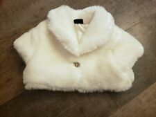 Beautiful Fur Bolero - 18-24mths - Immaculate Condition Worn Once