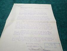1918 Old Document, Oakley Chemical Company NY, Autograph Maxwell Lakeman