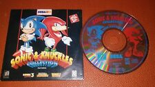 Sonic & Knuckles Collection Sega for PC JACK IN THE BOX PROMO 3 games in 1
