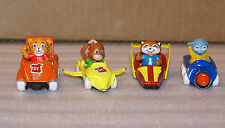 Lot of 4 Shirt Tales Diecast Cars 1 64 Scale Tyg Digger Bogey Rick
