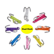 Scuba Diving Double Dual Stainless Steel Reef Drift Hook with Line for Cave Dive