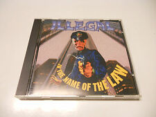 "Illegal ""In the name of the law"" Rare Indie cd USA printed"