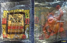 King Louie, the Orangutan toy #2  The Jungle Book  McDonald's/Disney (1989) NIOP