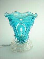 Dainty Teal Blue Fragrance Oil Warmer 35 watt FREE OIL INCLUDED!