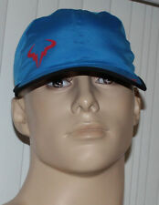 Nike TENNIS Unisex Rafa Bull Featherlight DriFit Blue/Black/Punch Cap Hat Sz OS*