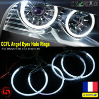 Ampoule LED 131mm CCFL Angel Eyes Halo Rings Feux Phare Pour BMW E36 E46 E38 E39