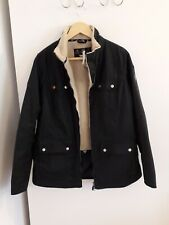 Barbour Howman wax jacket, size 14. BNWT. Fleece lined.