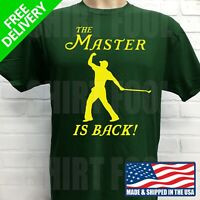 TIGER WOODS 2019 PGA MASTERS CHAMPION T-SHIRT