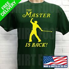 4f965eca TIGER WOODS 2019 PGA MASTERS CHAMPION T-SHIRT