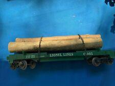 Lionel Postwar - 6361 Timber Car