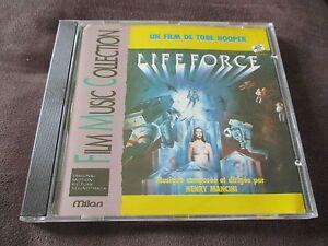 "RARE! CD BOF ""LIFEFORCE de Tobe Hooper"" Henry MANCINI"